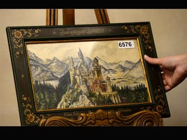 Hitler S 100 Year Old Paintings Auctioned Fetch Over 450 000 World News Firstpost