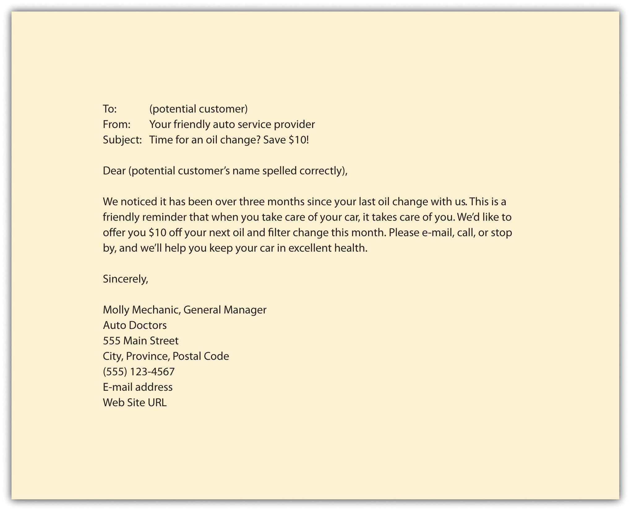 Sample Sales Promotion Letter Marketing – Sales Promotion Letter Examples