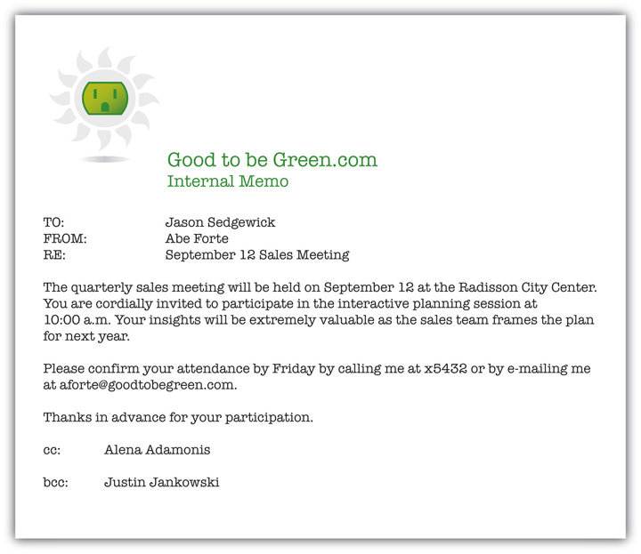 meeting memo template word