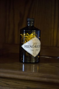 Upcycled Hendricks Gin Bottle Lamp 70cl - Folksy