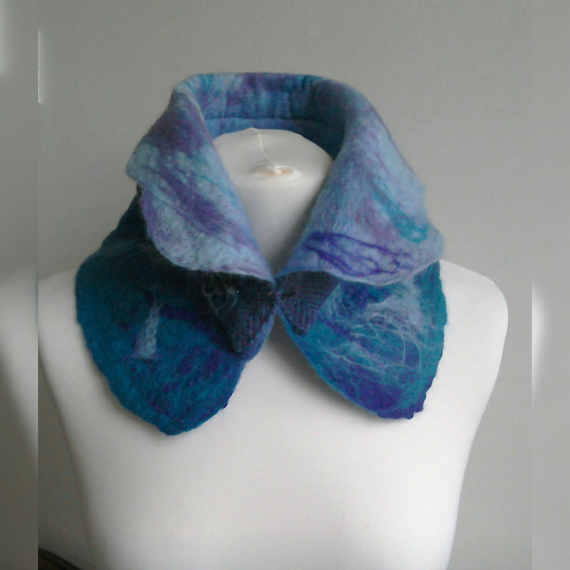 Bulk Jewellery Charms Scarf Collar Neck Warmer Felted Merino Wool Folksy