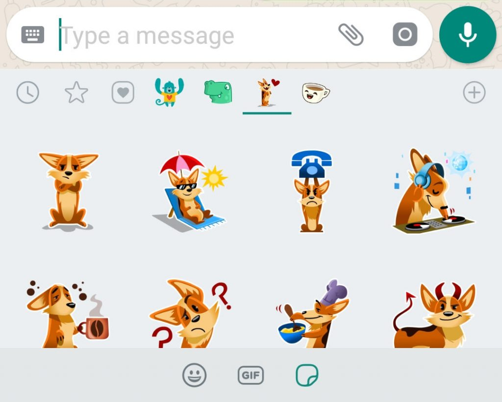 Stickers In Whatsapp Whatsapp Stickers Finally Starts Rolling Out Update