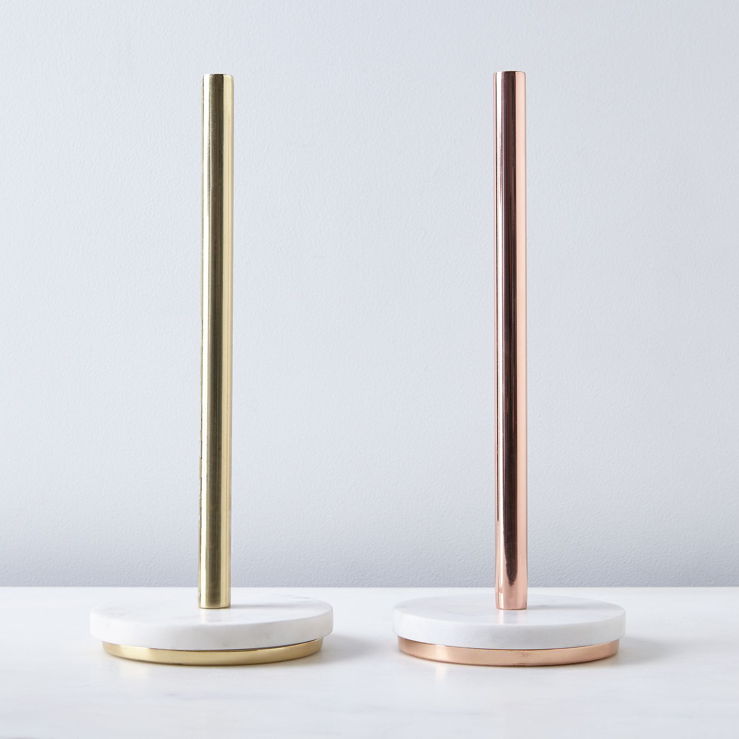 Marble & Metal Paper Towel Holder on Food52