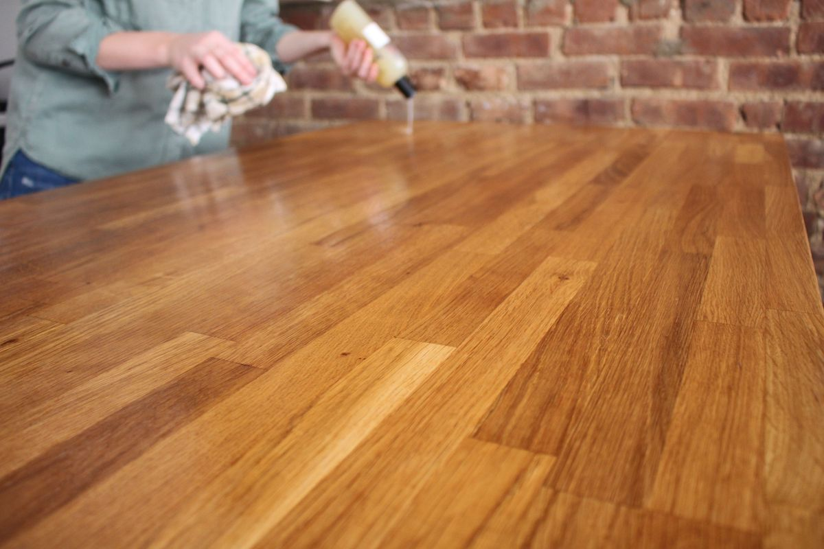 Butcher Block Countertops Care How To Care For Your Butcher Block