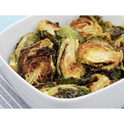 Small Crop Of Deep Fried Brussel Sprouts