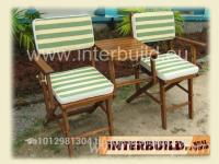 Innovative Folding Chair 2-Seater Jack and Jill Outdoor Chair