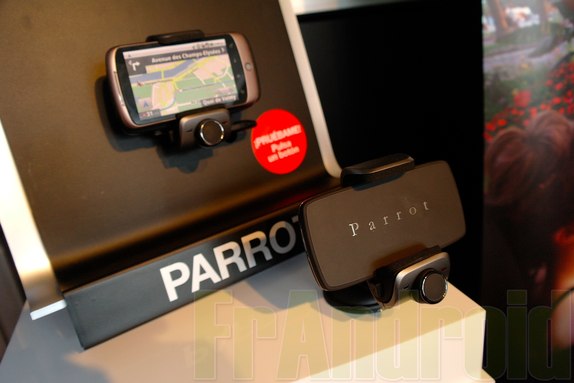 Kit Manos Libres Parrot Présentation Du Parrot Minikit Smart Un Support Mains