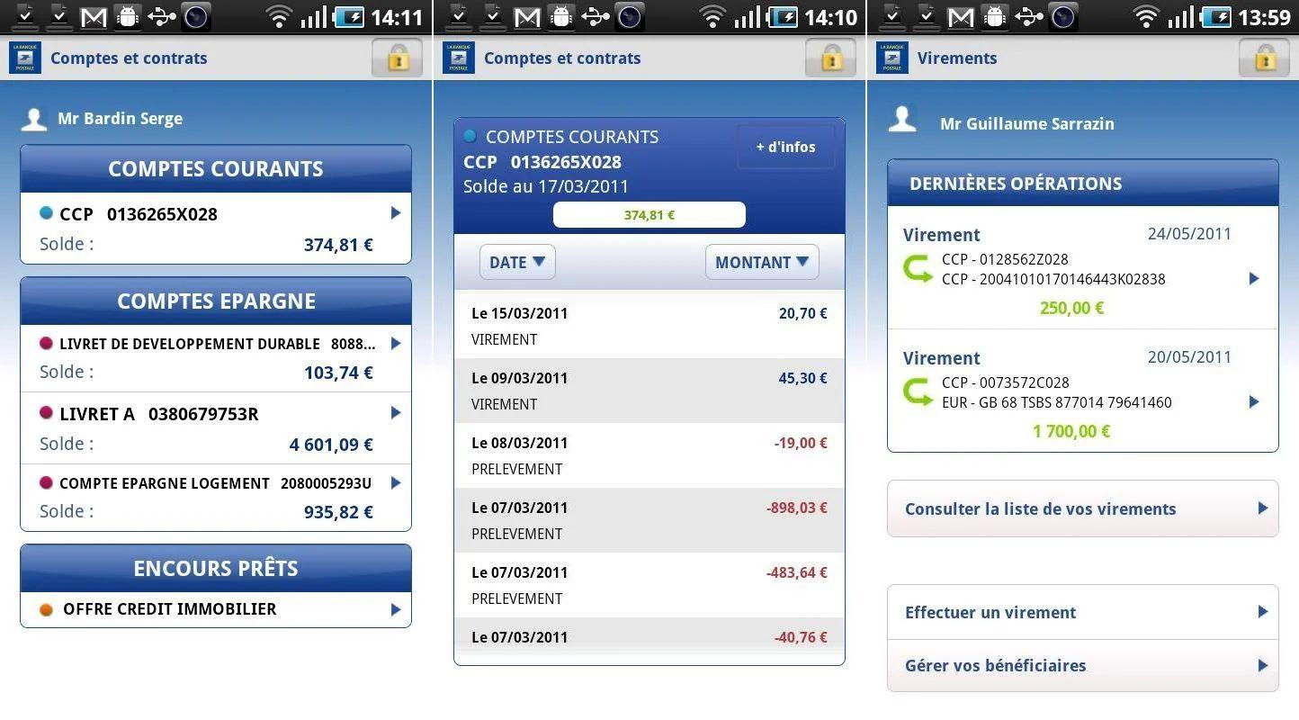 telecharger historique cvs compte banque postale