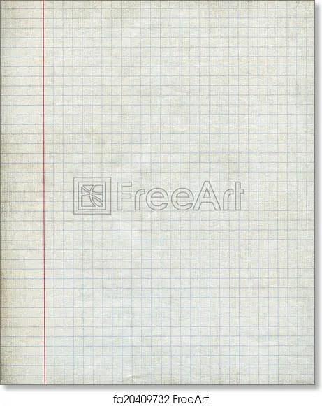 Free art print of Math paper background Math paper square