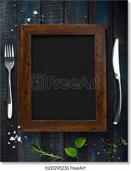 Free art print of Cafe menu restaurant brochure Food design