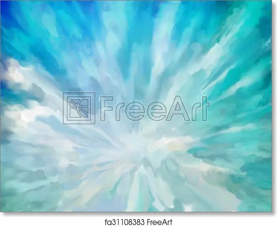 Free art print of Blue abstract artistic background Blue abstract