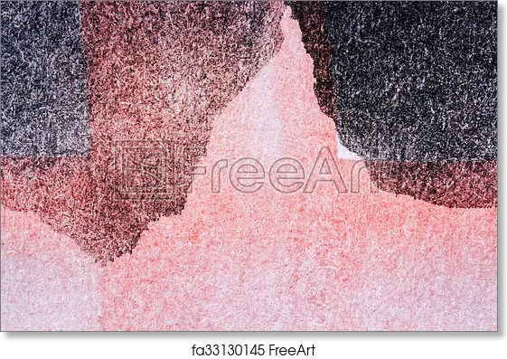 Free art print of Red and black watercolor background Abstract hand