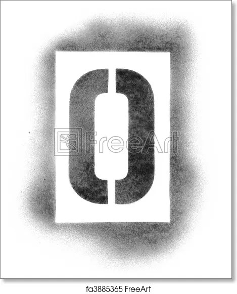 Free art print of Stencil letters in spray paint FreeArt fa3885365