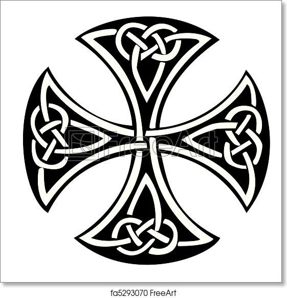 Large Printable Cross Stencil. cross template printable