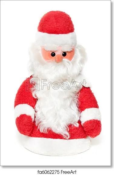 Free art print of Vintage Santa Claus doll Vintage Santa Claus doll