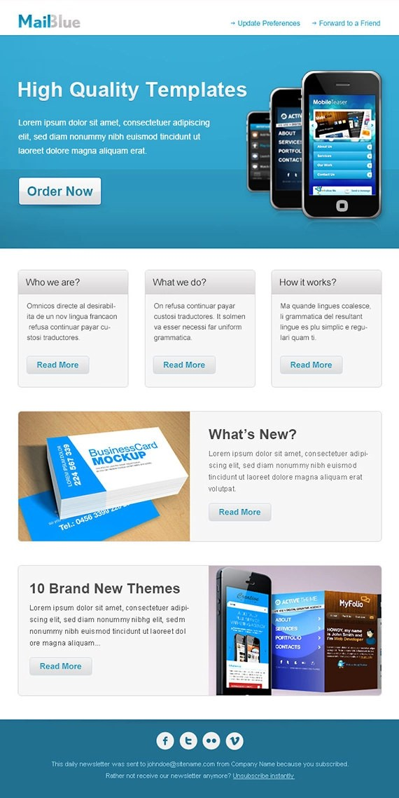 Top Result 60 Beautiful Interactive Newsletter Templates Gallery