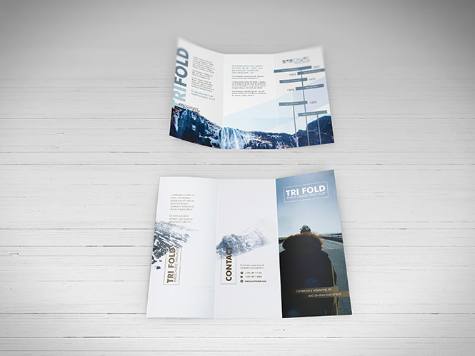 25+ Tri-folder Brochure Mockups - PSD, Vector EPS, JPG Download - Tri Fold Brochures Free