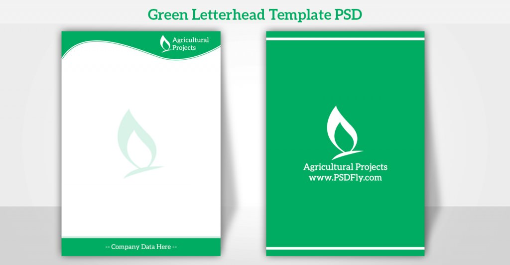 15 Free Vector PSD Company Letter Head Design Template Free - psd letterhead template