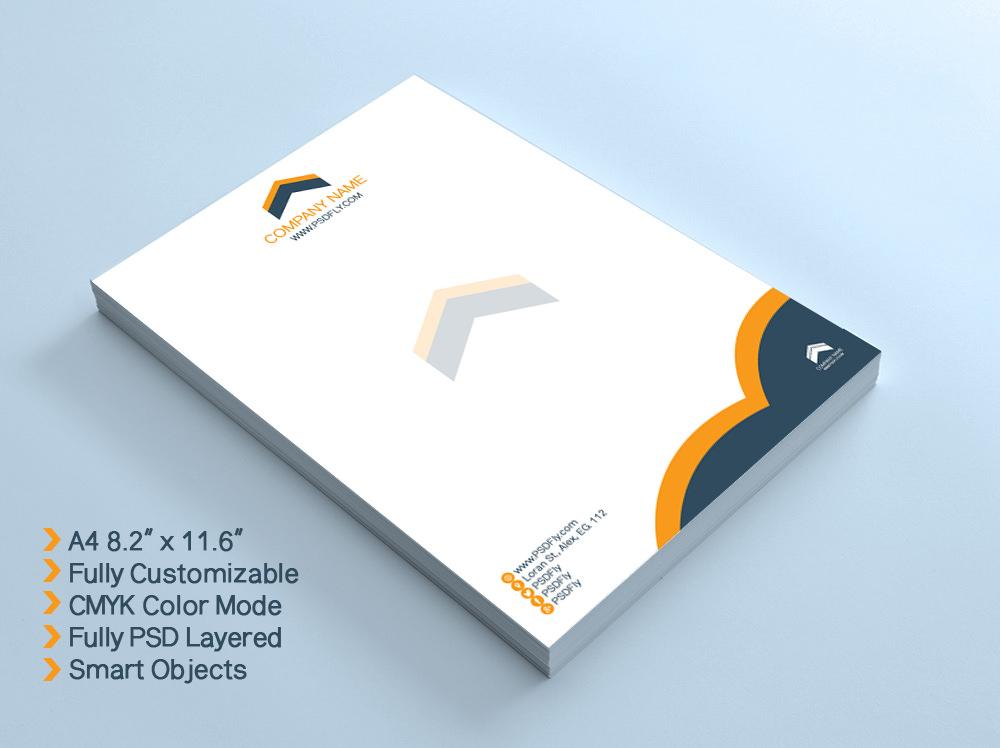 psd letterhead template - fototango - free printable business letterhead templates