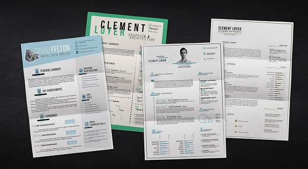 40+ Resume Template Designs FreeCreatives - free resume designs