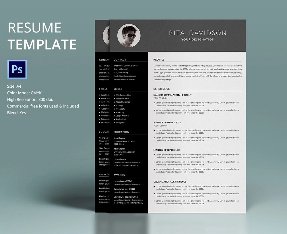 Four Things That Make Your Resume Look Dated Techrepublic 40 Resume Template Designs Freecreatives