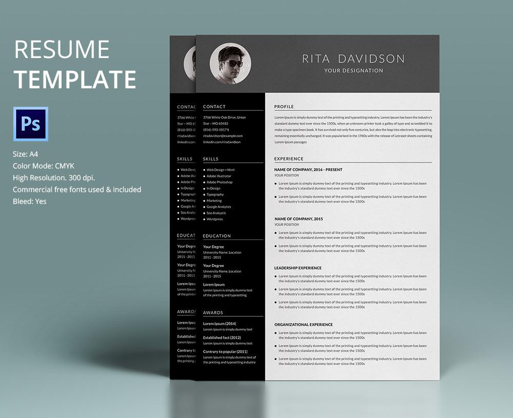 best designed resume templates