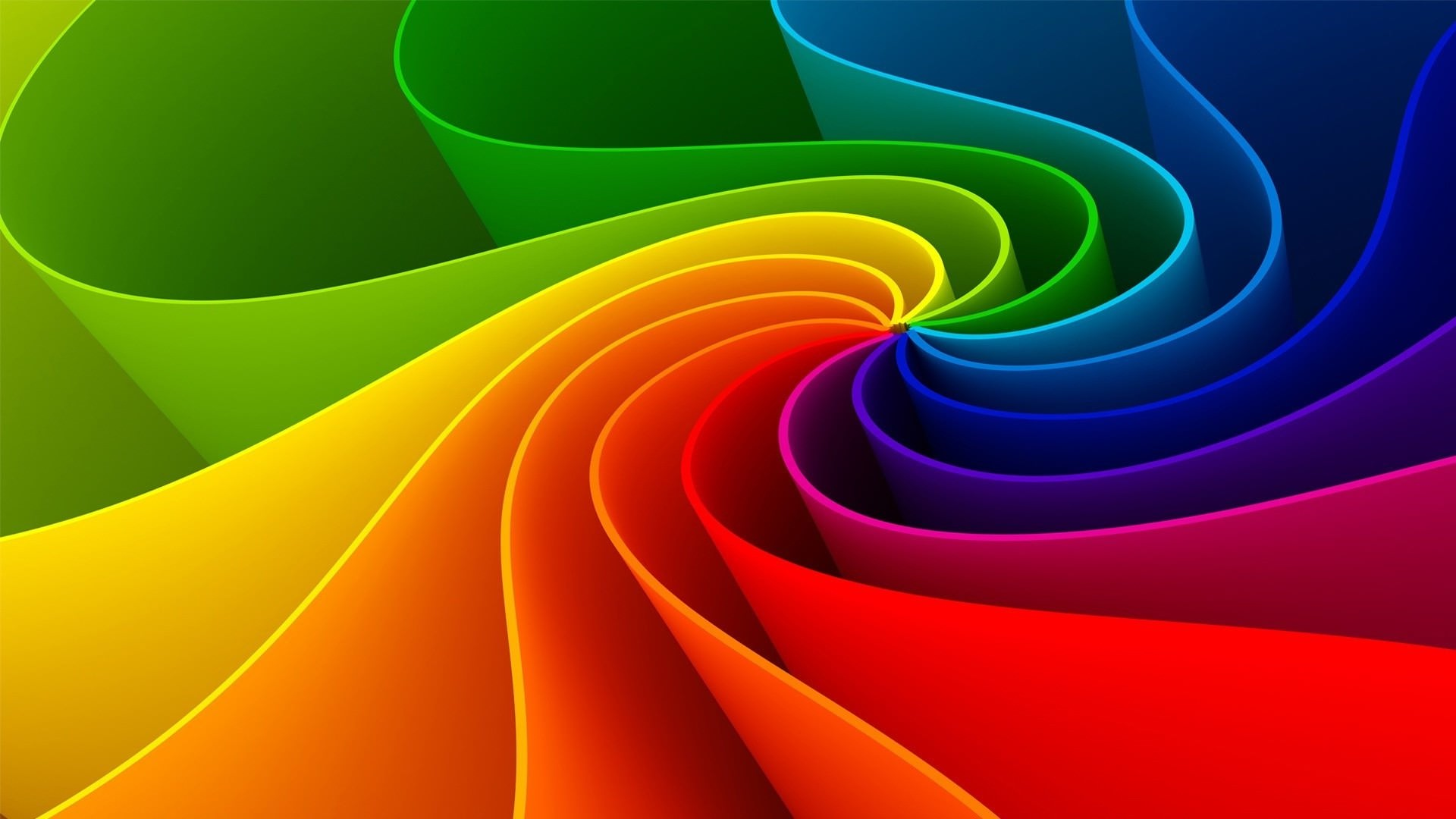 3d Curved Wallpaper 20 Hd Rainbow Background Images And Wallpapers Free