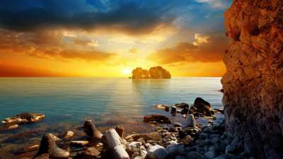 10+ Best Beach Sunset Desktop Wallpapers|FreeCreatives