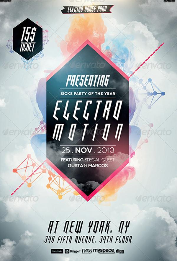 Electro Flyer - Design Templates - electro flyer