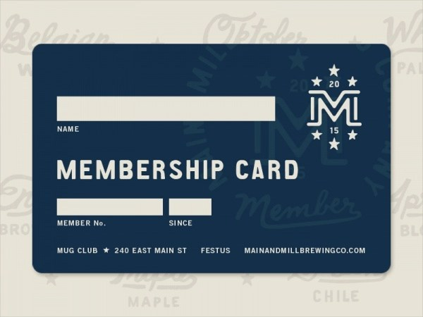20+ Membership Card Designs - PSD, Vector EPS, JPG Download