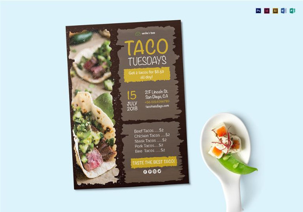 28+ Food Flyer Templates - PSD, Vector EPS, JPG Download FreeCreatives