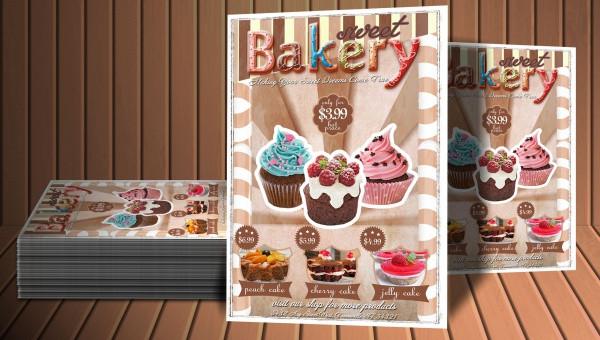 34+Bakery Flyer Templates- PSD AI, Ms Word