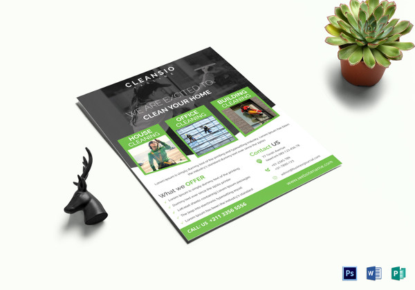 29+ Cleaning Service Flyer Designs - PSD, Vector EPS, JPG Download