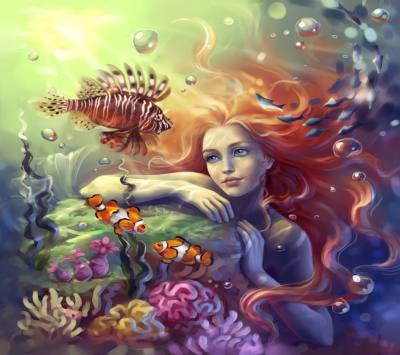 22+ Mermaid Wallpapers, Fish Backgrounds, Pictures, Images   FreeCreatives