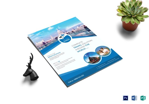 32+ Travel Flyers - PSD, Vector EPS, JPG Download FreeCreatives - tourism brochure template