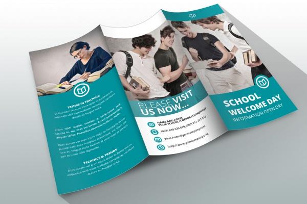 10+ School Brochure Designs FreeCreatives