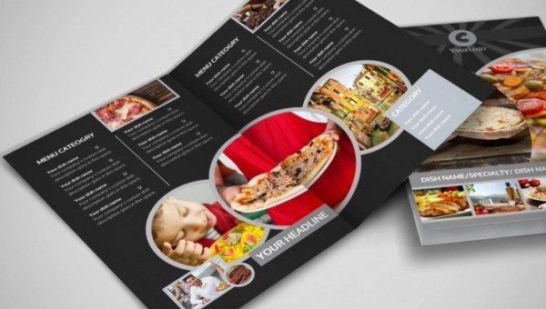 restaurant brochure - Pinarkubkireklamowe