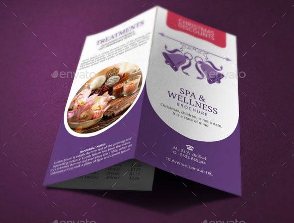 10+ Spa Brochure Designs FreeCreatives - spa brochure