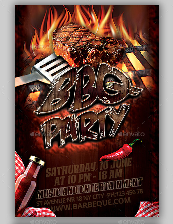 31+ BBQ Flyer Templates - PSD, Vector EPS, JPG Download FreeCreatives