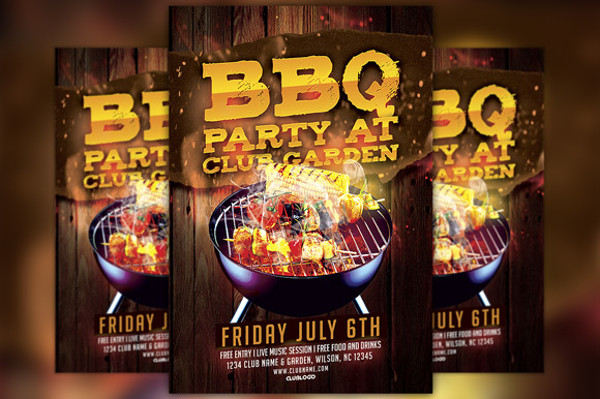 20+ BBQ Flyer Templates - PSD, Vector EPS, JPG Download - bbq flyer