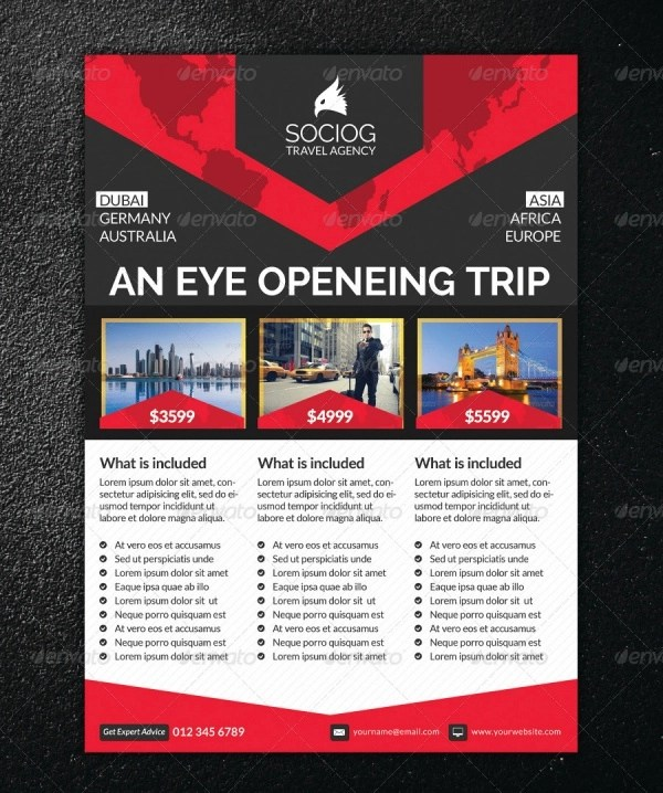 12+ Travel Flyers - Editable PSD, AI, Vector EPS Format Download