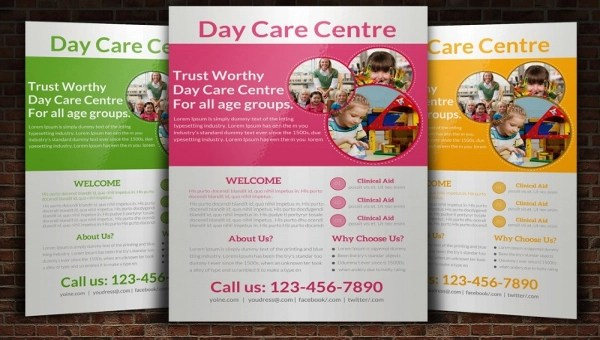 28+ Daycare Flyers - PSD, Vector EPS, JPG Download
