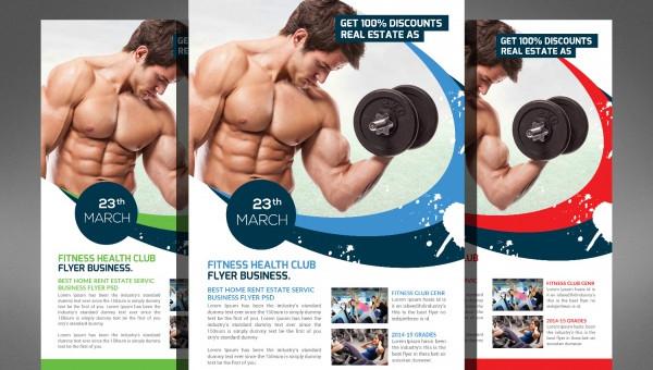 20+ Fitness Brochures - Editable PSD, AI, Vector EPS Format Download - Fitness Brochure