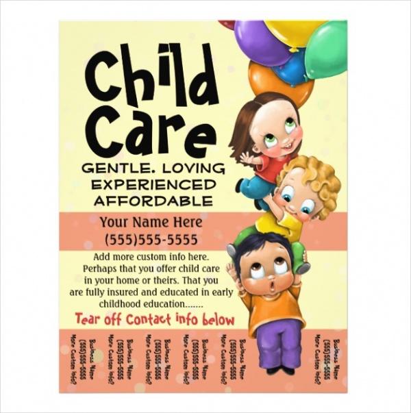 28+ Daycare Flyers - PSD, Vector EPS, JPG Download - sample preschool brochure
