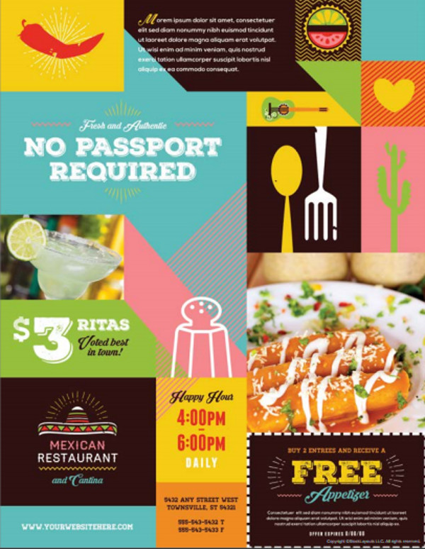 28+ Food Flyer Templates - PSD, Vector EPS, JPG Download FreeCreatives