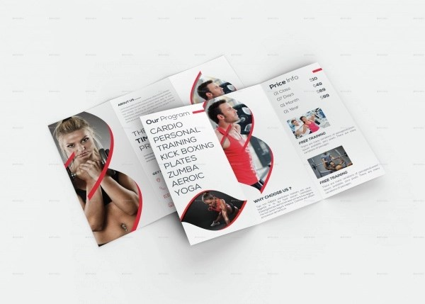 20+ Fitness Brochures - Editable PSD, AI, Vector EPS Format Download - Fitness Brochure