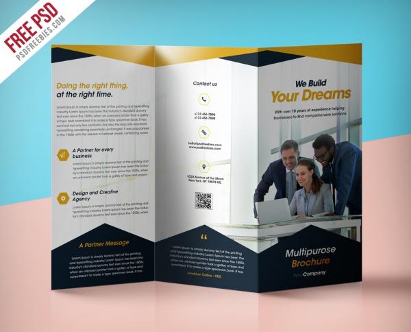 21+ Modern Brochure Designs - PSD, Vector EPS, JPG Download - modern brochure design