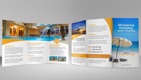 14+ Resort Brochures - PSD, AI, Google docs, Apple pages