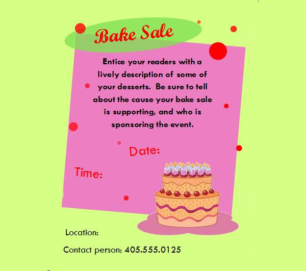 28+ Bake Sale Flyer Templates - PSD, Vector EPS, JPG Download