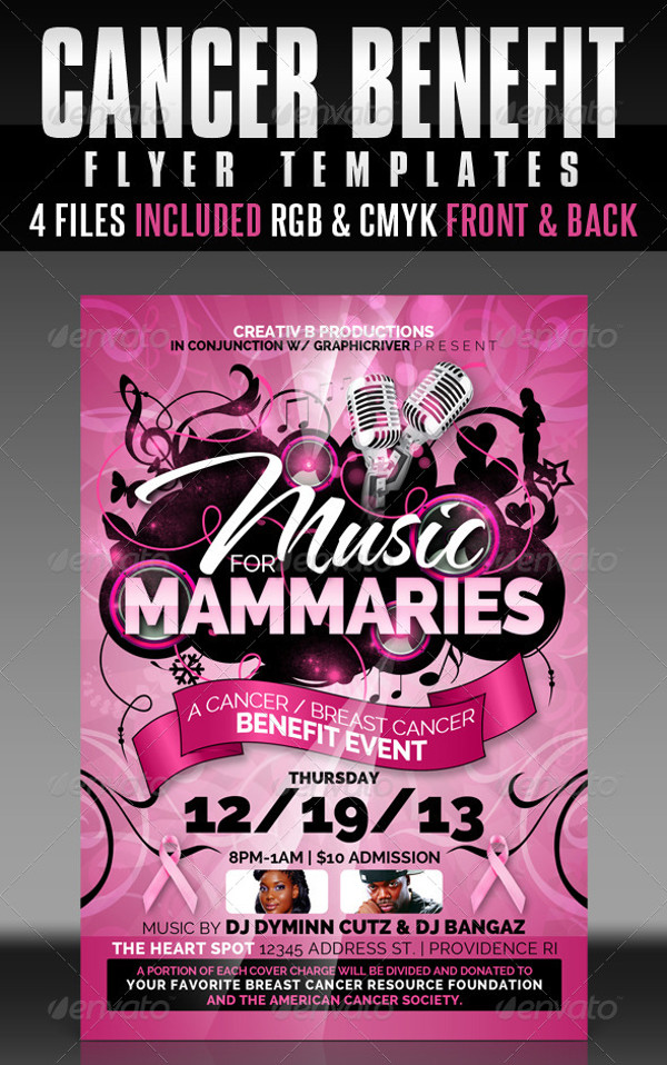20+ Breast Cancer Flyer Templates  Creatives - PSD, AI, InDesign